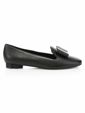 Sarno Bow Leather Shoes