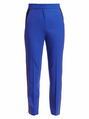 Poppy Stretch Wool Ankle Pants