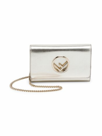 Small Metallic Chain Wallet