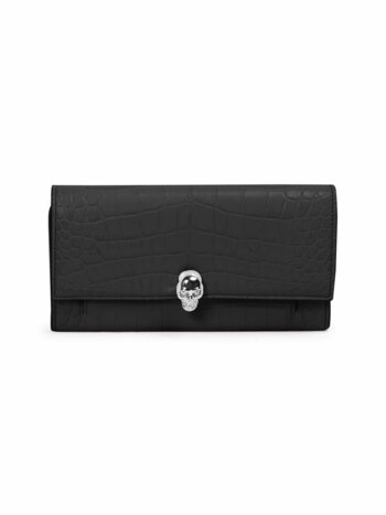 Mock Leather Convertible Clutch