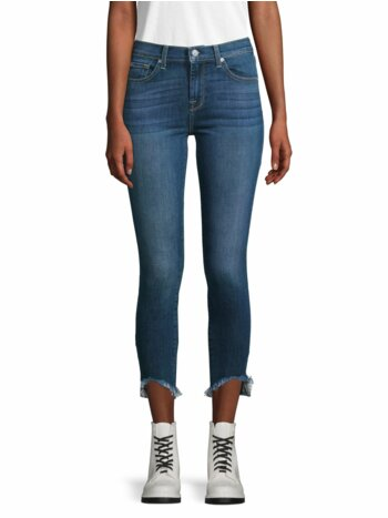 Gwenevere High-Rise Ankle Jeans