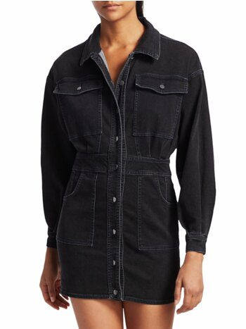 Bo Denim Shirtdress