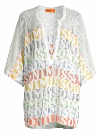 Rainbow Stripe Lace-Up Tunic
