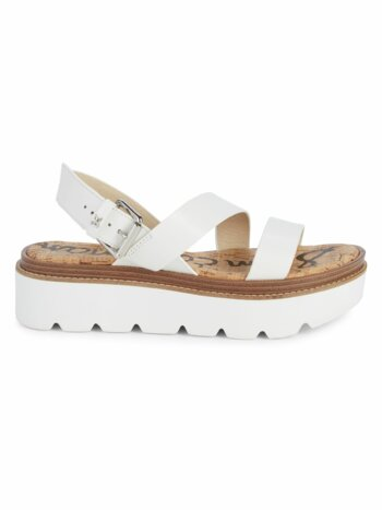 Rasheed Leather Platform Sandals