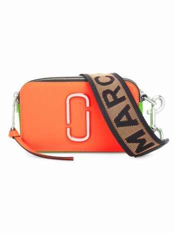 Snapshot Fluoro Leather Camera Bag