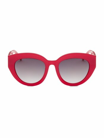 Carnavale Thick Plastic Cat Eye Sunglasses