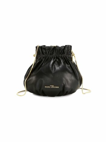 The Soiree Leather Bucket Bag