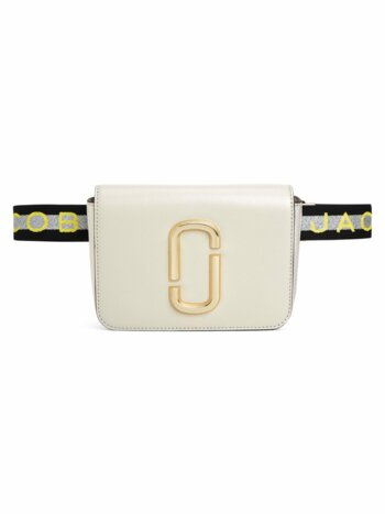 The Hip Shot Coated Leather Belt Bag