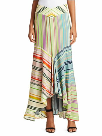 Beverly Striped Maxi Skirt