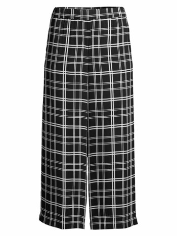 Heidi Plaid Wide-Leg Pants