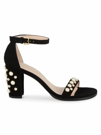 Bing Pearl Studded Sandals