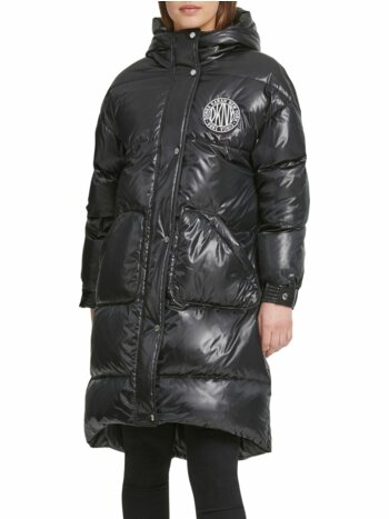 Token Hooded Puffer Jacket