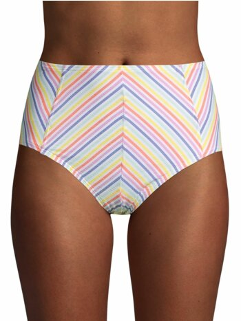 Beach Party High-Waist Bikini Bottom