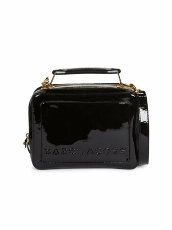 The Box 23 Patent Leather Top Handle Bag