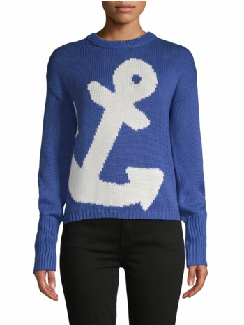 Anchor Graphic Cotton Sweater