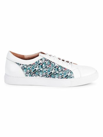 Northcliff Graffiti Leather Sneakers