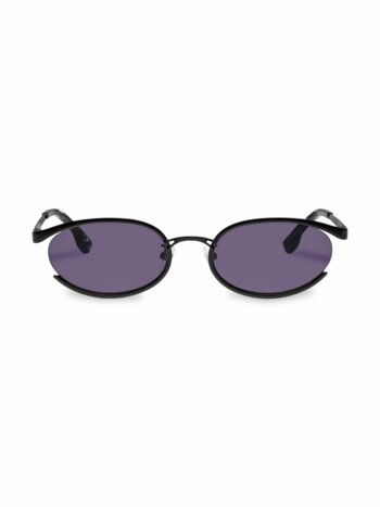 Tres Solo 56MM Oval Sunglasses