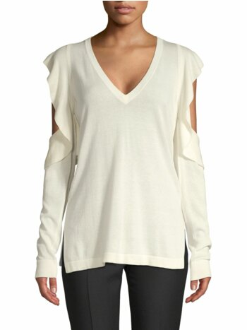 Emile Cold-Shoulder Sweater