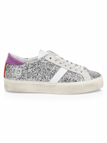 Hill Double Glitter Low-Top Sneakers
