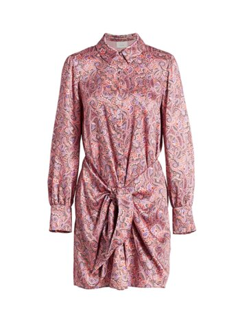 Gaby Psychedelic Paisley Mini Dress
