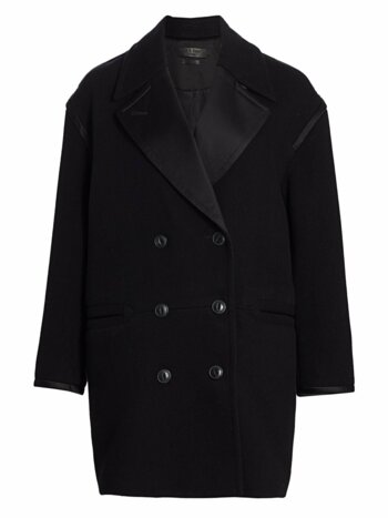 Laura Ribbed Virgin Wool Coat
