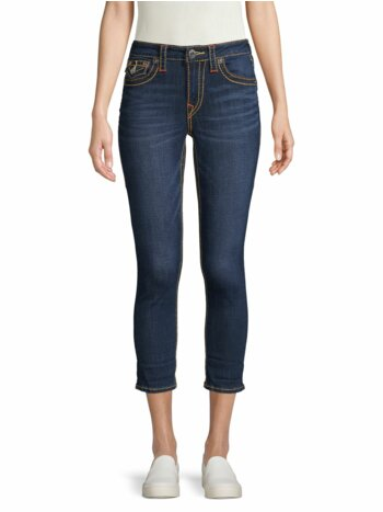 Stretch Cropped Jeans