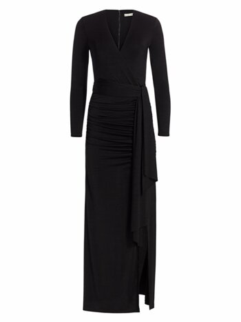 Kyra Ruched Maxi Dress
