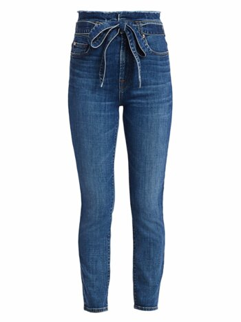 Roxanne Paperbag Ankle Skinny Jeans
