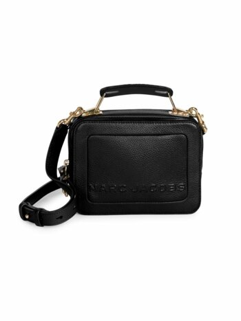 The Box 20 Leather Top Handle Bag