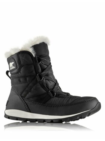 Whitney Short Faux-Fur Lace-Up Boots