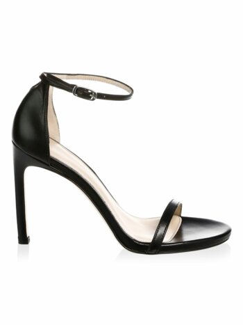 Nudistsong Ankle-Strap Leather Sandal