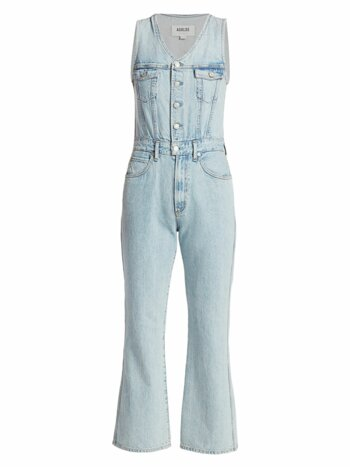 70s Tank Denim Jumpsuit