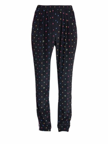 Christine Printed Silk Trousers
