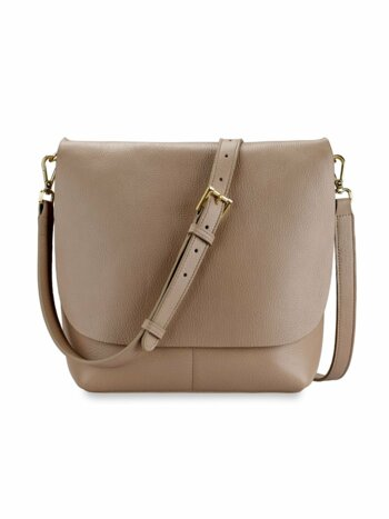 Andi Leather Crossbody Bag