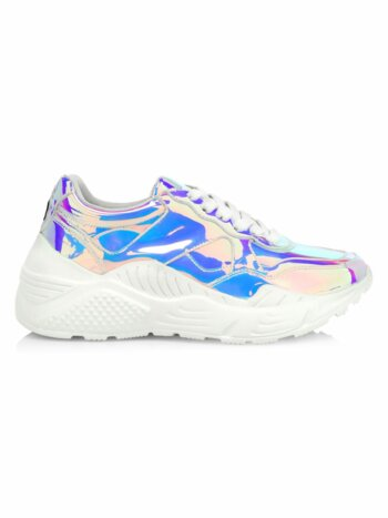 Claudine Iridescent Chunky Sneakers