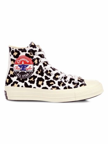 Logo Play Chuck 70 Leopard High-Top Sneakers
