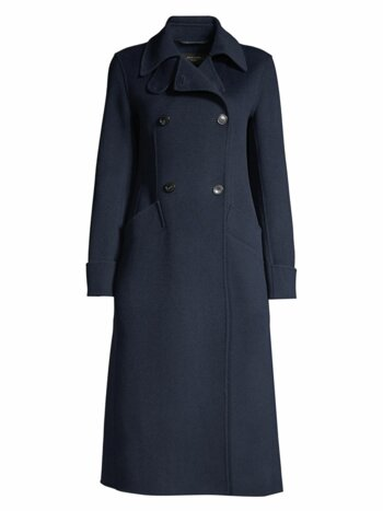 Starna Double Breasted Wool Coat