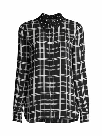 Ingunn Plaid Contrast Shirt