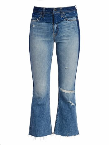 Holly High-Rise Crop Flare Jeans