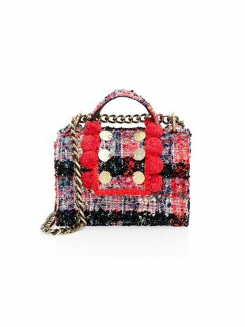 Petite Lollipops Tweed Satchel