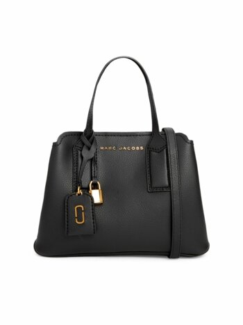 The Editor 29 Pebbled Leather Satchel