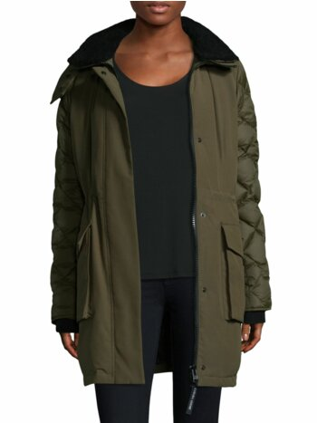 Elwin Military Parka