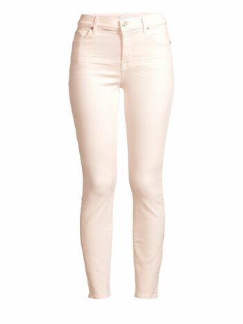 High-Rise Ankle Skinny Jeans