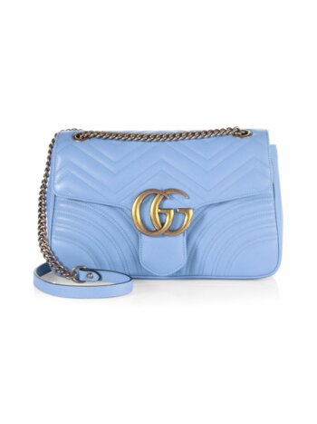 GG 2.0 Medium Quilted Leather Shoulder Bag