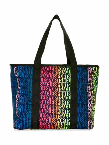 Candace North-South Nylon Tote