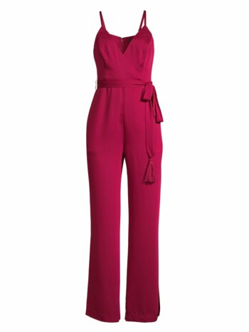 Crepe Back Satin Jumpsuit