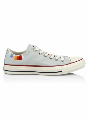 Self Expression Multicolor-Embroidered All Star Sneakers