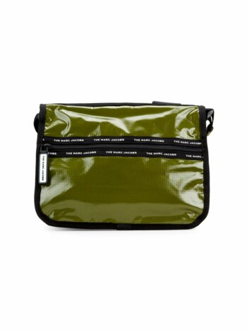 Olive Shine Messenger Bag