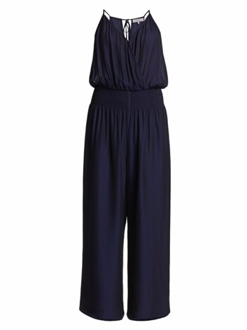 Suze Smocked Jumpsuit