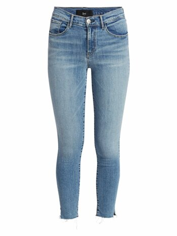 Nora Skinny Mid-Rise Cropped Jeans